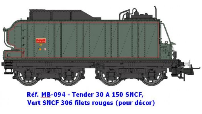 TENDER 30 A 150   POUR DECORS