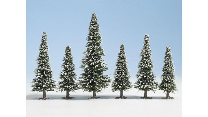 25 Sapins de neige