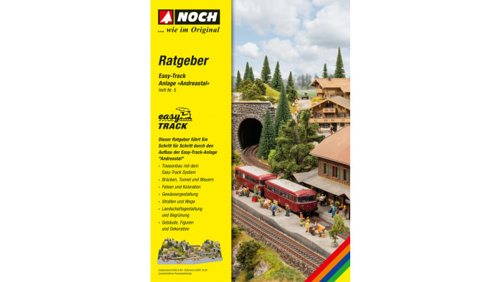 Guide Easy-Track    Andreastal   , allemand  120 pages