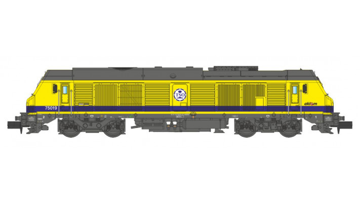 SNCF BB75000 TSO