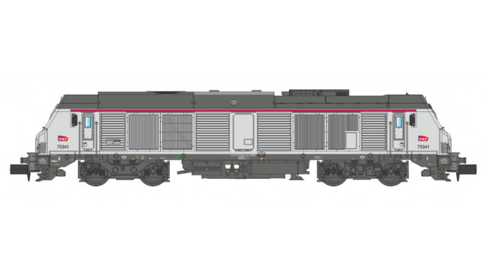 SNCF BB75000 INTERCITE
