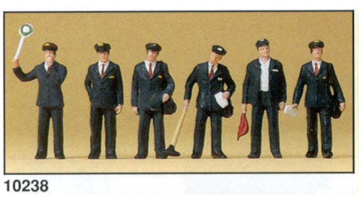 personnel de gare italien