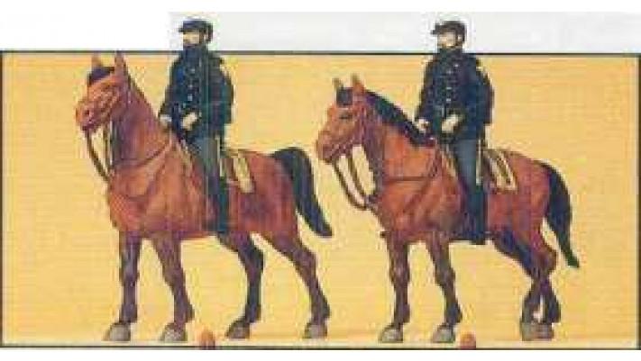 policiers u.s a cheval