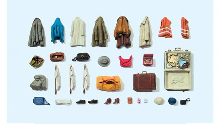 habits divers, vestes, chaussures, sacs...
