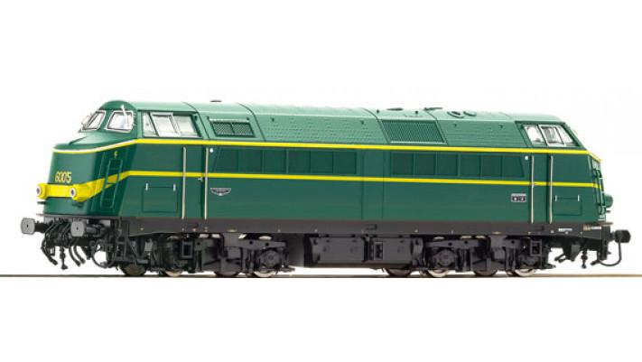 LOCO D.S6005 SON SNCB