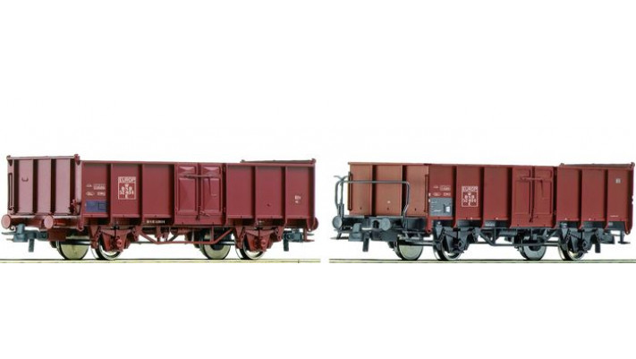SET 2  WAGONS TOMB.DSB