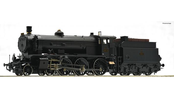 Dampflok Rh 209 BBÖ Snd.