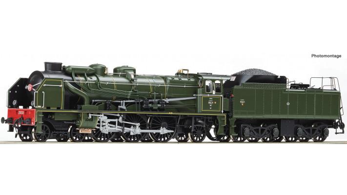 Vapeur 231 E 40 SNCF ép. III digitale sonore - HO 1/87 - ROCO 73079