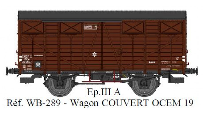 couvert ocem 19 Ep III A SNCF