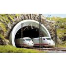Entrée de tunnel 2 voies  HO