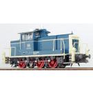 Diesellok, H0, BR 360-160, ozeanblau-beige, Epoche IV, Vorbildzustand