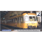 SNCF, 2-unit railcar X2700 in orange/silver  , period IV, with DCC-sou