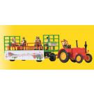 H0 LANZ Traktor mit Festwagen