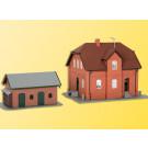 H0 Siedlungshaus Bottrop mit