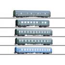 Reisezugwagen-Set DR/DDR