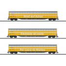 Coffret de wagons à parois coulissantes de grande capacité Habbiillnss