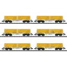 Güterwagen-Set Abraumzug