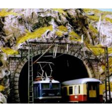 Entrée de tunnel ho double voies