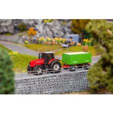 MF Tracteur+remorque à copeaux (WIKING)
