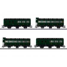 Abteilwagenset zur Serie 130 TB,SNCF,III
