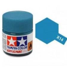 X14 bleu ciel - brillant -  Tamiya - peinture acrylique 10 ml