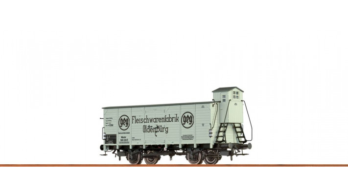 H0 Freight Car Kassel DRG, II, Fleischw.