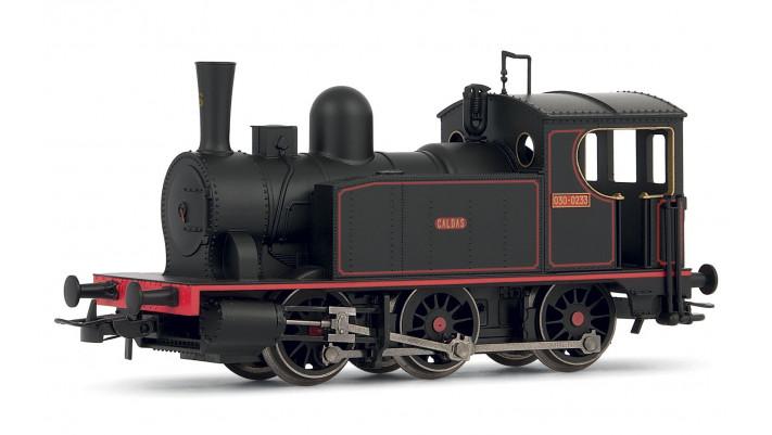 Spanish 030 steam locomotive  Caldas  in new livery