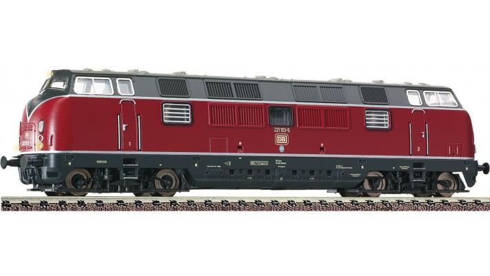Diesellok BR 221, rot, DCC-Snd