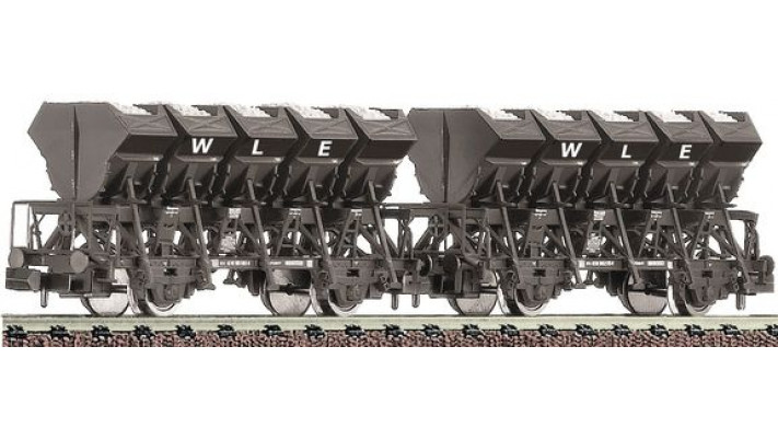 2tlg Güterwagenset Muldenkippw