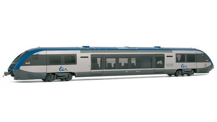 Autorail X73500 Livrée   neutre   grand logo TER ( transferts pour 3