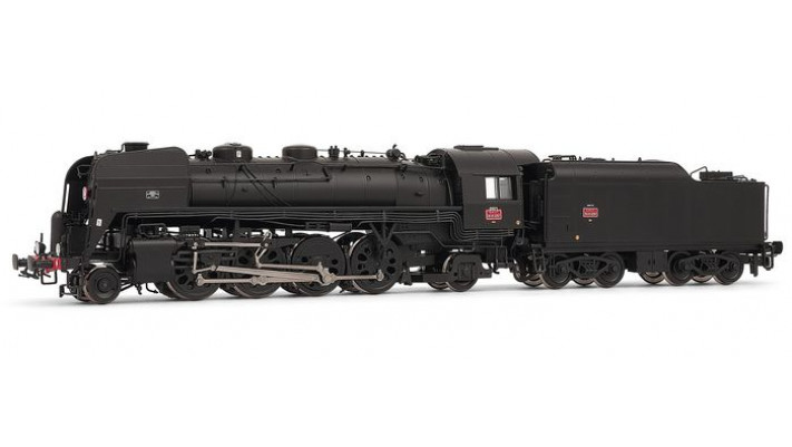 141 R 1257 - tender fuel 9,5 M3, dépôt de Vénissieux #