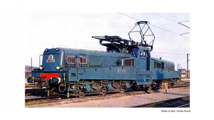 Locomotive électrique CC14000 livrée bleue d'origine sonorisée #