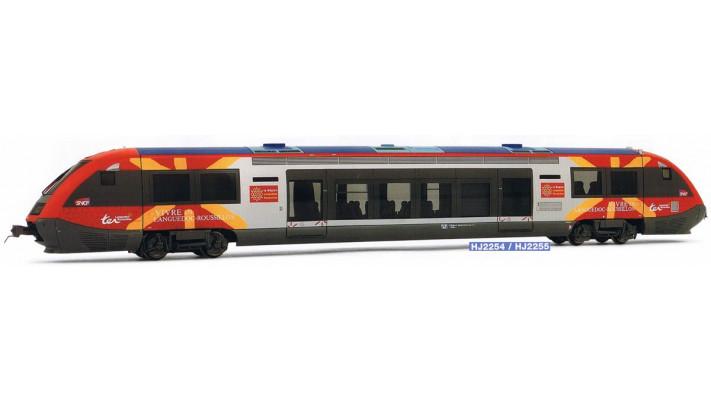 Autorail X73500, région Languedoc Roussillon