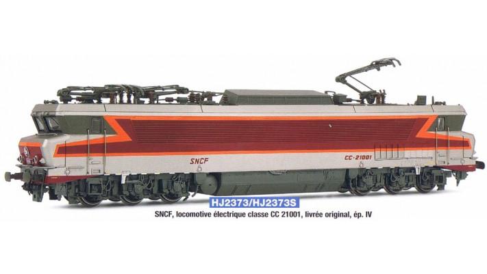 SNCF, loco CC 21001 in original  , period IV, with digital sound decod