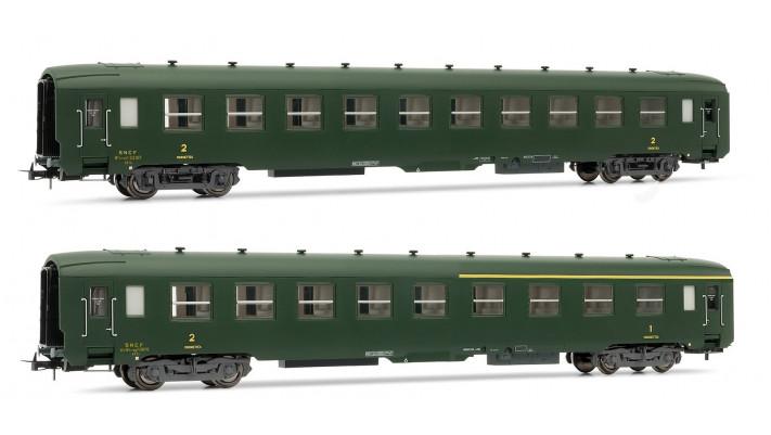 Set of 1 A4C4B5C5 myfi + 1 B10C10myfi period IIIb coaches