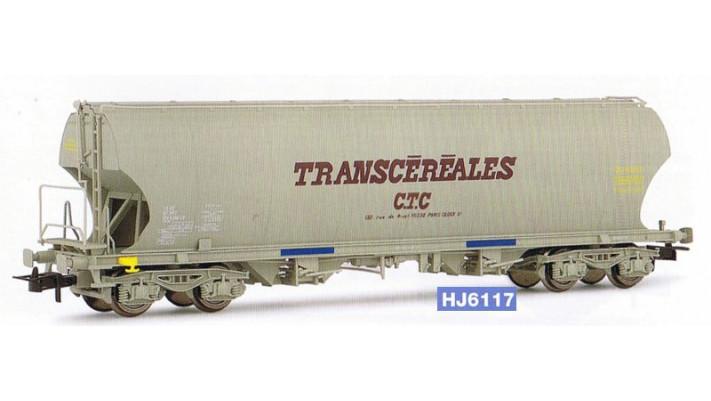 Wagon céréalier à faces latérales bombées   CTC