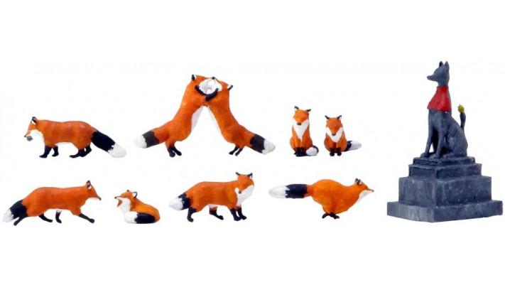 8 renards HO