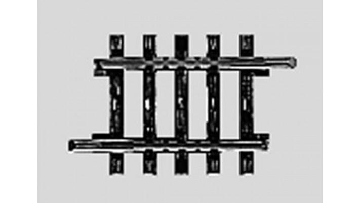 Rail droit 35,1 mm