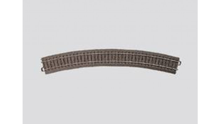 Rail courbe  r579,3 mm,30 Gr.