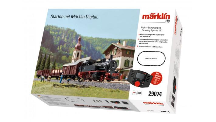 Coffret de départ numérique Train marchandises Epoque III 230V