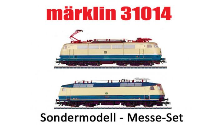 Double coffret Locomotives Electriques série 103/série120 DB