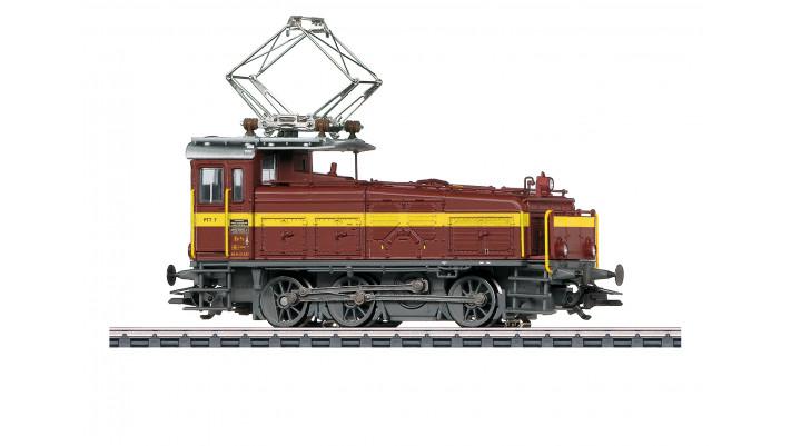 Locomotive de manœuvre électrique série Ee 3/3  Halbschuh  (le  soulie