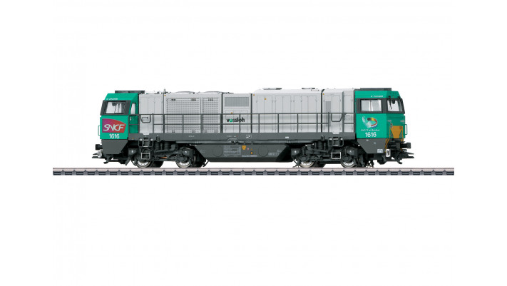 Locomotive diesel Vossloh G 2000 BB , SNCF ,époque VI