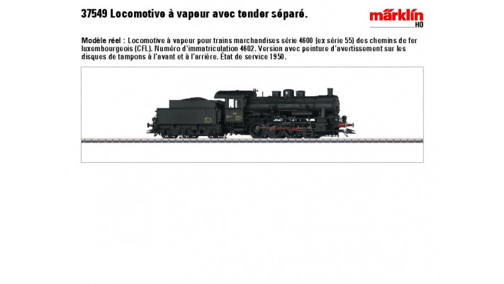 G?erzug-Dampflok Serie 46 CF