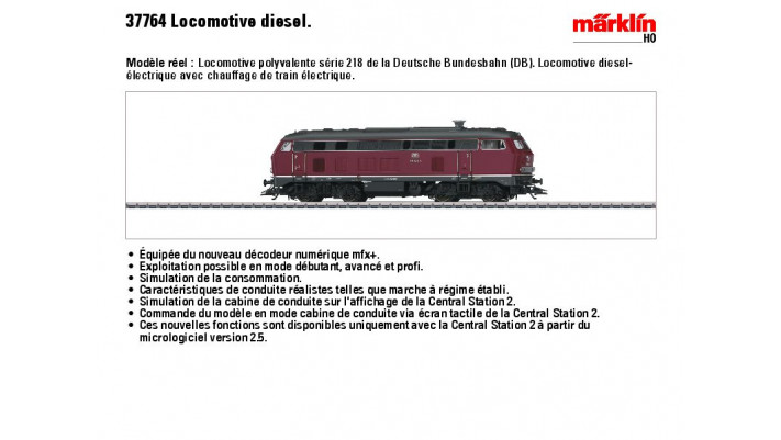 Diesellok BR 218 DB
