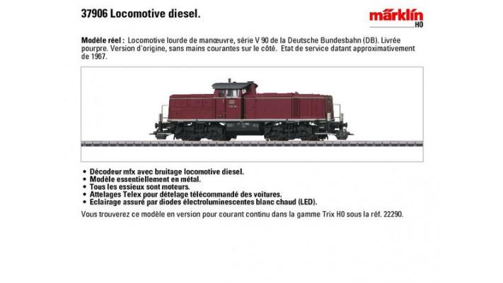 Diesel-Rangierlok BR V 90 DB