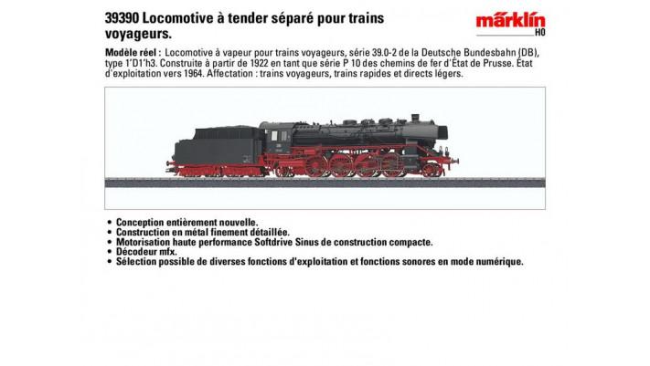 Locomotive BR 39.0-2, DB
