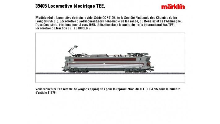 E-Lok CC 40100 SNCF