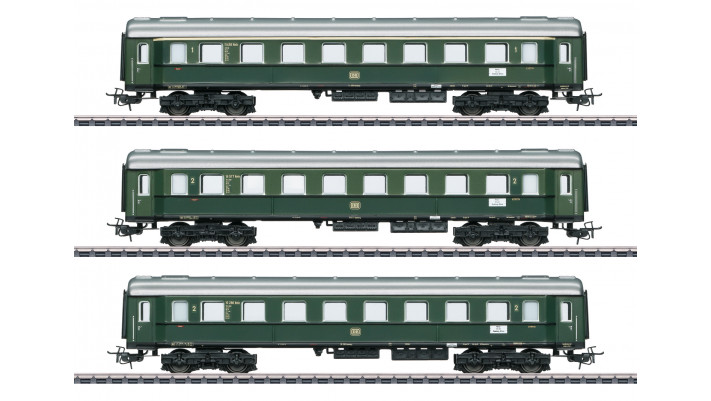 Personenwagen-Set zur E44 DB