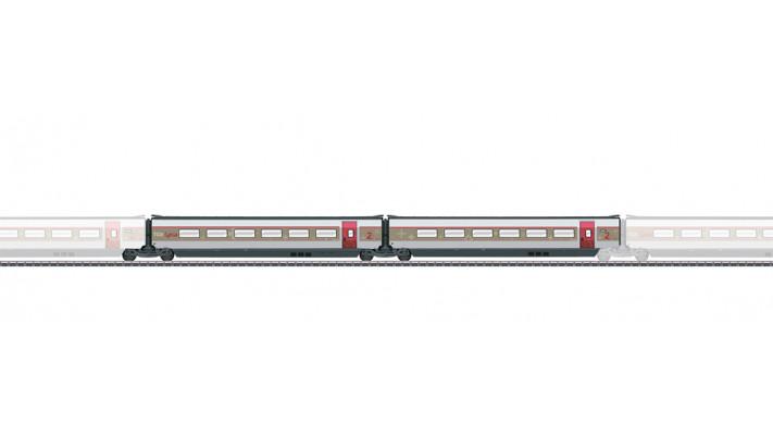 SET DE COMPLEMENT 2 POUR LE TGV LYRIA  SNCF